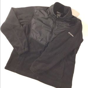 WOMEN'S COLUMBIA BLACK JACKET